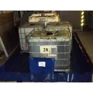 Bac de rétention 1000 litres souple