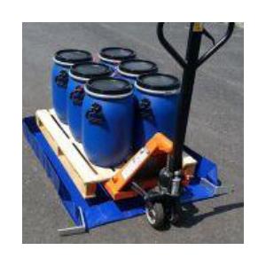 Bac de rétention 210 litres souple pliable avec renfort