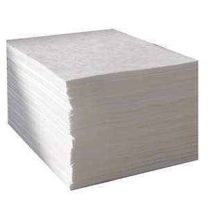 Feuille, absorbant fibre de polypropylène pour hydrocarbure