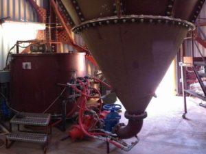 Système de nettoyage automatique du cône du clarificateur