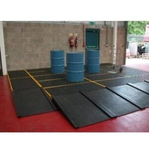 Plancher de rétention 120 litres en PEHD