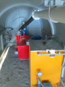 Pompe d'extraction de lisier pour épaississants à haut débit