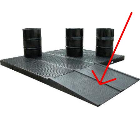 Rampe d'accès pour plancher de rétention 120-240 litres