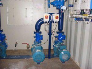 Stations de pompage pour l'eau potable